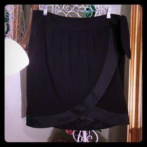 """Black skirt """"wrap-look"""""""
